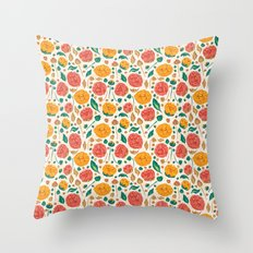 Flowers Bloom Throw Pillow
