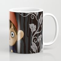 over the garden wall Mugs featuring Over the Garden Wall. by toibi