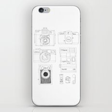 cameras iPhone & iPod Skin