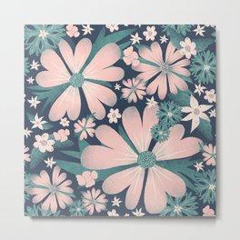 Beautiful endless flower love Metal Print