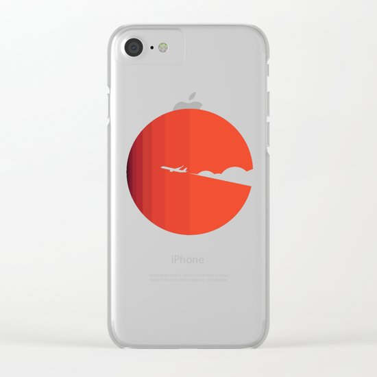 The long goodbye Clear iPhone Case