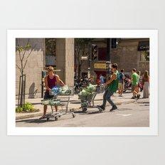 Grocery Bros.  Art Print