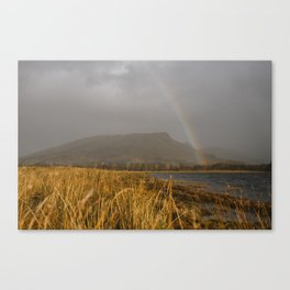 A Rainbow in Scotland Canvas Print