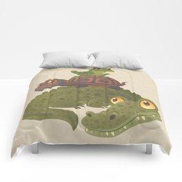 Swamp Squad Comforters
