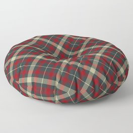 Holiday Plaid 17 Floor Pillow