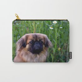 Lion Dog Carry-All Pouch