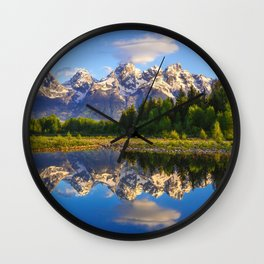 Grand Teton National Park Wall Clock