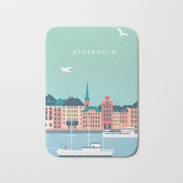 Stockholm Bath Mat