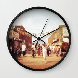 Coney Island #1 Wall Clock
