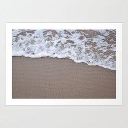 Soft Tide Art Print