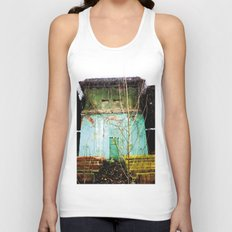 Nature finds the way inside... and outside... Unisex Tank Top