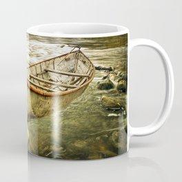 Canoe on the Thornapple River in Autumn Coffee Mug