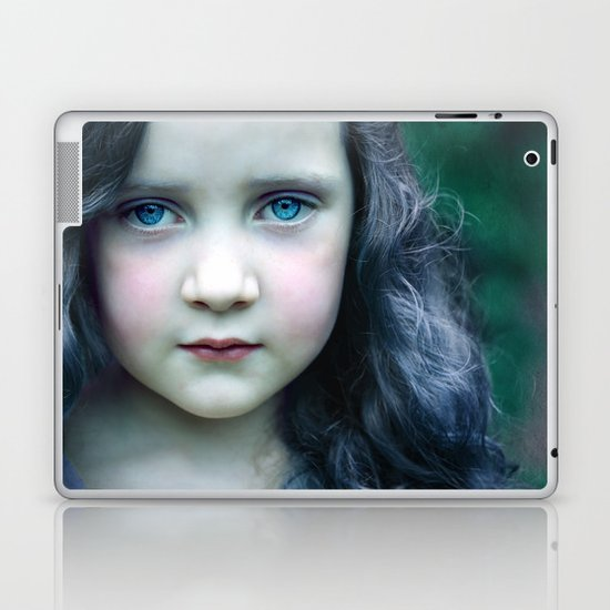Even in my alternate universe, the rain makes my hair curl.  Laptop & iPad Skin