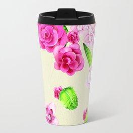Paper and Pink Travel Mug