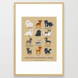 EASTERN EUROPEAN DOGS Framed Art Print