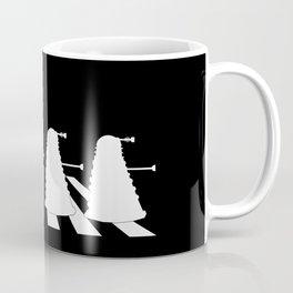 Daleks on Abbey Road Coffee Mug