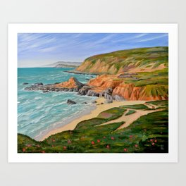 Bodega Head, Sonoma Co. CA Art Print