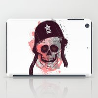 soldier iPad Cases featuring Soldier  by Jelot Wisang