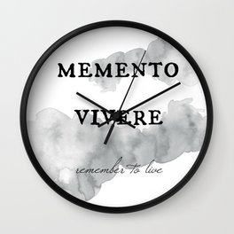 Words of Wisdom Wall Clock