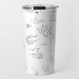 Hands of a Working Woman Travel Mug