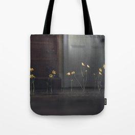 Flowers on the Floor Tote Bag