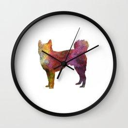 Shikoku in watercolor Wall Clock