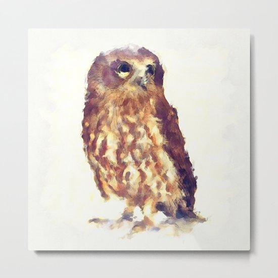 Gorgeous Baby Owl Metal Print