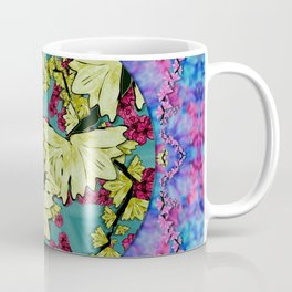 flowers and the cherry blossom tree is blooming so free Coffee Mug