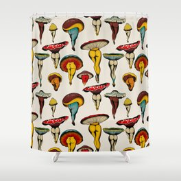 Sexy mushrooms Shower Curtain
