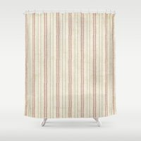 baseball Shower Curtains featuring Baseball by Denise Zavagno