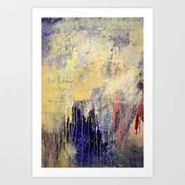myfoundationissecure Art Print