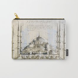 Blue Mosque, Istanbul Turkey Carry-All Pouch