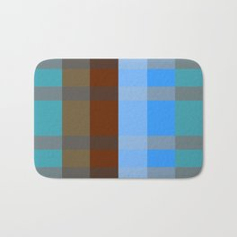 Chocolate Denim Bath Mat