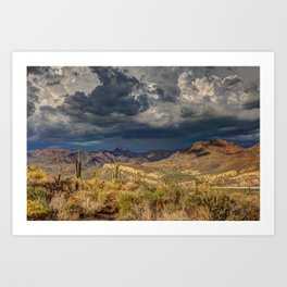 The Extremes Art Print