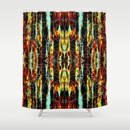 Colorful Indian Pattern Shower Curtain
