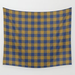 Abercrombie, Alpine, Resolution Blue, Camel, Plaid Wall Tapestry