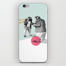 mirror, mirror on the wall. iPhone & iPod Skin