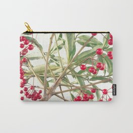 Christmas Berry Carry-All Pouch