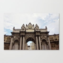 Dolmabahce Palace Gates Canvas Print