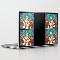 buddhism Laptop & iPad Skins featuring Buddhism by Panda Cool