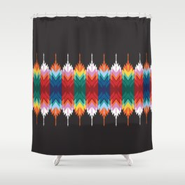 American Native Pattern No. 285 Shower Curtain