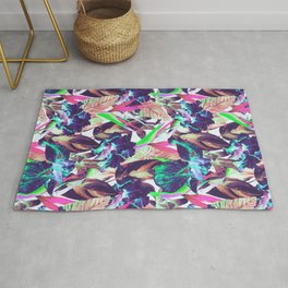 Electric tropical Rug