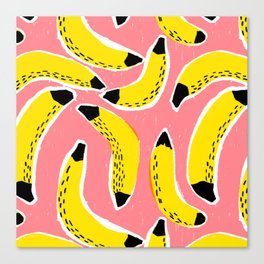 Bananas! Canvas Print