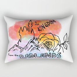 From the Badlands to the Kingdom Rectangular Pillow
