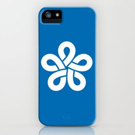 flag of fukuoka prefecture iPhone Case