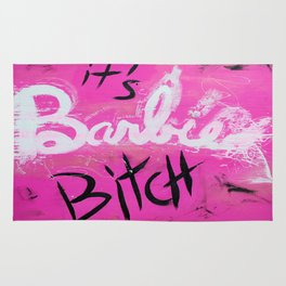 IT'S BARBIE BITCH Rug