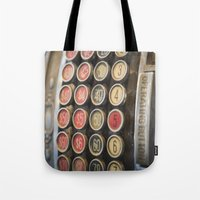 the national Tote Bags featuring Old National by mofoto