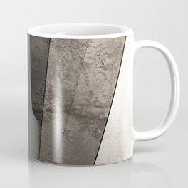 Grey Textured rays Coffee Mug