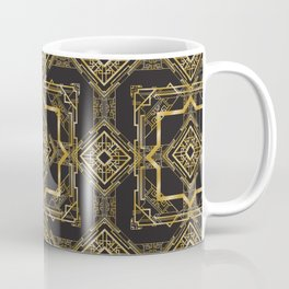 Art Deco Geometric Pattern Coffee Mug