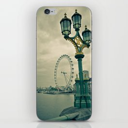 View of the London Eye iPhone Skin